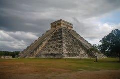 Maya Pyramid, Chichen-Itza Imagem de Stock