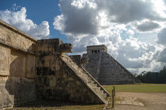 Maya Pyramid, Chichen-Itza Stock Photography