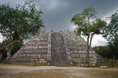 Maya Pyramid, Chichen-Itza. Mexico Stock Photos
