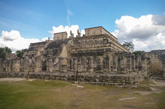 Maya Pyramid, Chichen-Itza. Mexico Royalty Free Stock Image