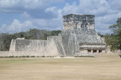 Maya Pyramid, Chichen-Itza, Mexico. Mayan pyramid, Chichen-Itza, Mexico ancient building Stock Image