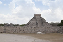Maya Pyramid, Chichen-Itza, Mexico. Mayan pyramid, Chichen-Itza, Mexico ancient building Royalty Free Stock Image