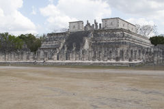 Maya Pyramid, Chichen-Itza, Mexico. Mayan pyramid, Chichen-Itza, Mexico ancient building Royalty Free Stock Photography