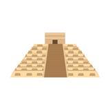 Maya Pyramid , Temple of Kukulkan   Mayan pyramid Stock Photography