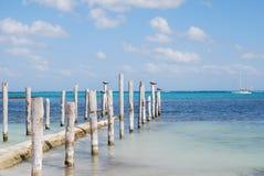 maya riviera пляжа Стоковое Изображение RF
