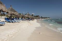 Maya Riviera Beach Lizenzfreie Stockfotos
