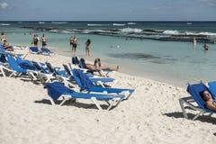 Maya Riviera Beach Lizenzfreie Stockbilder