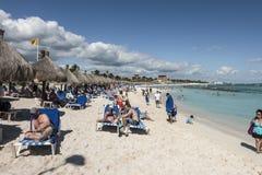 Maya Riviera Beach Lizenzfreies Stockfoto