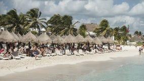 Maya Riviera Beach Imagem de Stock