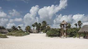 Maya Riviera Beach Fotografia de Stock