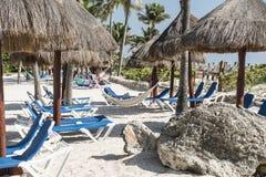 Maya Riviera Beach Royalty Free Stock Image