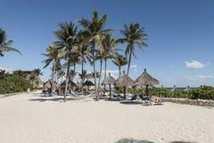 Maya Riviera Beach Stock Image