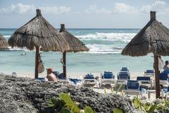 Maya Riviera Beach Stock Photos