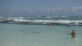 Maya Riviera Beach Stock Photo
