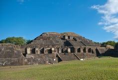 Maya ruïnes Royalty-vrije Stock Foto's