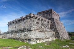 Maya ruin. In tulum mexico Stock Photos