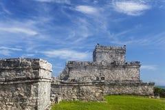 Maya ruin. In tulum mexico Stock Photography