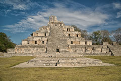 Maya ruins of Edzna Royalty Free Stock Photos
