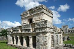 Maya Ruins in Tulum. Tulum Maya ruins in the Yucatan Mexico stock photography