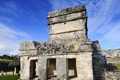 Maya ruins in Tulum Stock Photo