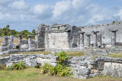Maya ruins of Tulum Stock Photo