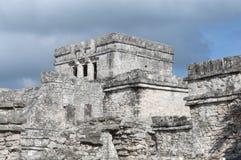 Maya ruins in Tulum Stock Image