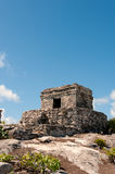 Maya ruins at Tulum, Mexico. Stock Photo