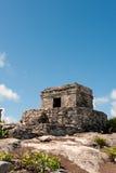 Maya ruins at Tulum, Mexico. Tulum maya ruins Quintana Roo, southern Mexico stock photo