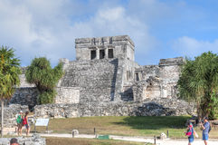 Maya ruins of Tulum Stock Image