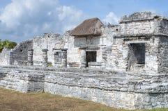 Maya ruins in Tulum Royalty Free Stock Image