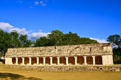 Maya ruins, Uxmal, Yucatan, Mexico. Part of the Mayan ruins of Uxmal in the state of Yucatan, Mexico Royalty Free Stock Photography