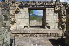 Maya's Copan in Honduras. Copan, archeological Maya side in Central America Royalty Free Stock Photography