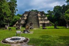 Maya's Tikal Ruins, Guatemala Royalty Free Stock Images