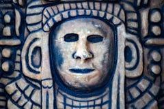 Maya skull in mexico Royalty Free Stock Image