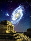Maya stad Stock Afbeeldingen