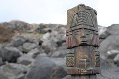 Maya Statue Image libre de droits
