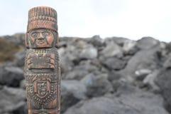 Maya Statue Royalty Free Stock Image