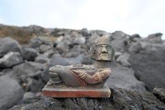 Maya Statue Stock Image