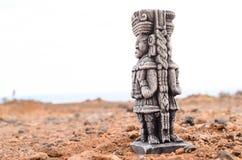 Maya Statue antique photos libres de droits