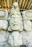 Maya Statue at Copan Stock Photos