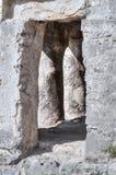 Maya stone doorway Royalty Free Stock Photos