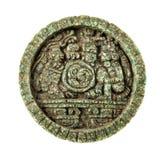 Maya sun stone Royalty Free Stock Image
