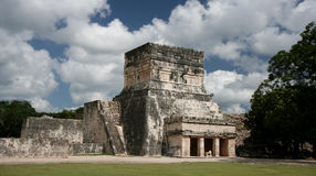 Maya temple Royalty Free Stock Images
