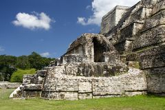 Maya Temple Royalty Free Stock Photos