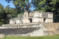 Maya Temple Royalty Free Stock Photo