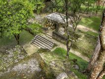 Cahal Pech in Belize Stock Images