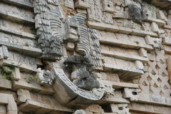Maya Temple, mexican temples cancun Stock Photo