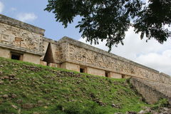 Maya Temple, mexican temples cancun Royalty Free Stock Photography