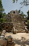 Maya Temple Yucatan Mexico Royalty Free Stock Photography