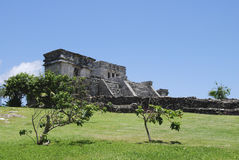 Maya van Riviera tulum Stock Fotografie